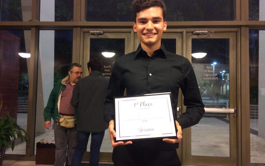 Photo of Youth Winner 2018 Matteus Cobo