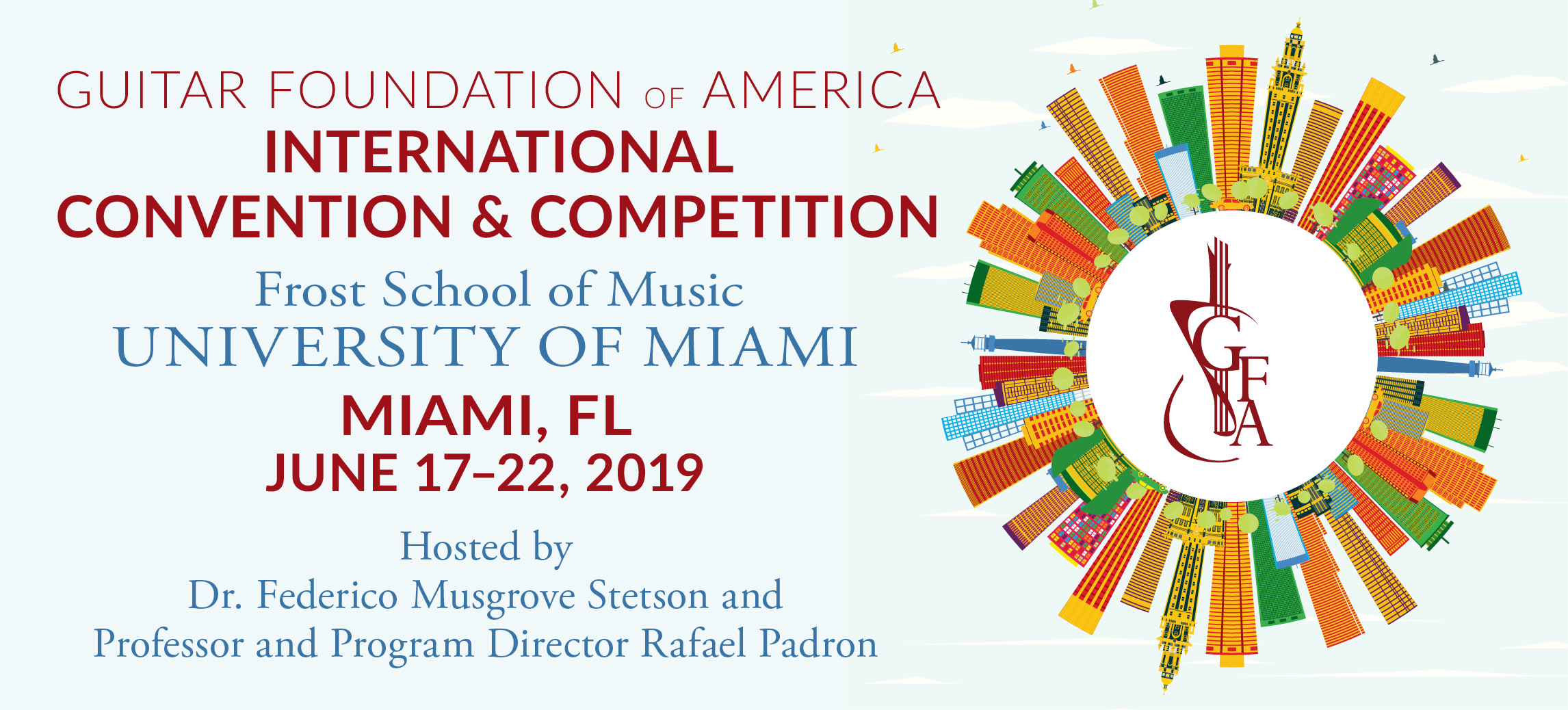GFA Convention & Competition - June 17 - 22, 2019
