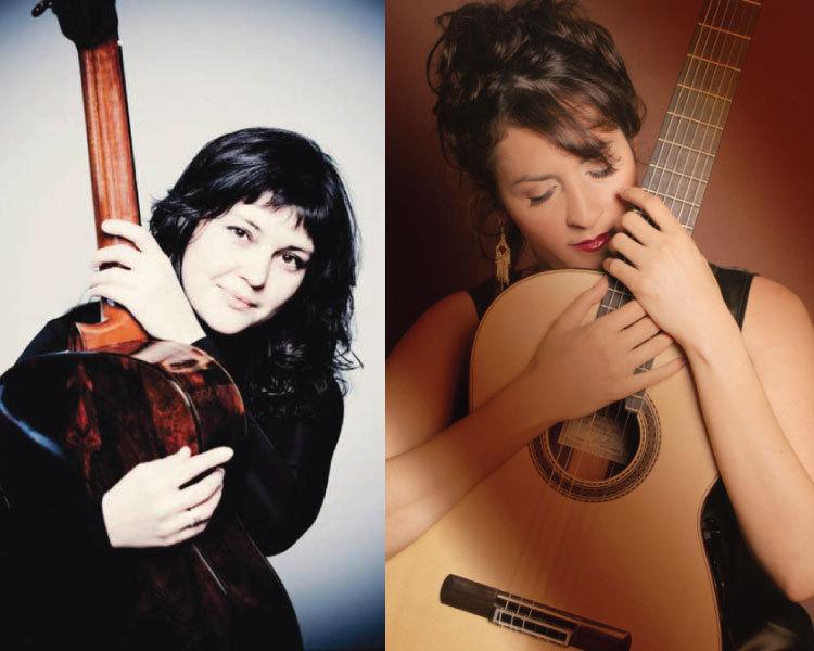 Photos of Irina Kulikova and Iliana Matos
